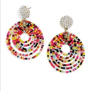 Bauble Bar Clover Drop Earrings